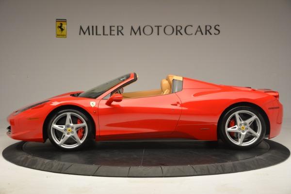 Used 2013 Ferrari 458 Spider for sale Sold at Alfa Romeo of Westport in Westport CT 06880 3
