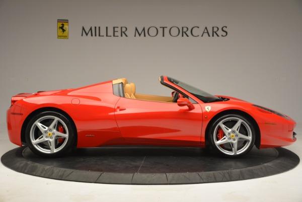 Used 2013 Ferrari 458 Spider for sale Sold at Alfa Romeo of Westport in Westport CT 06880 9