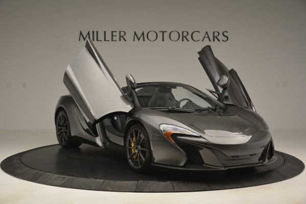 Used 2016 McLaren 650S Spider Convertible for sale Sold at Alfa Romeo of Westport in Westport CT 06880 12
