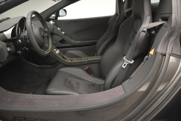 Used 2016 McLaren 650S Spider Convertible for sale Sold at Alfa Romeo of Westport in Westport CT 06880 23
