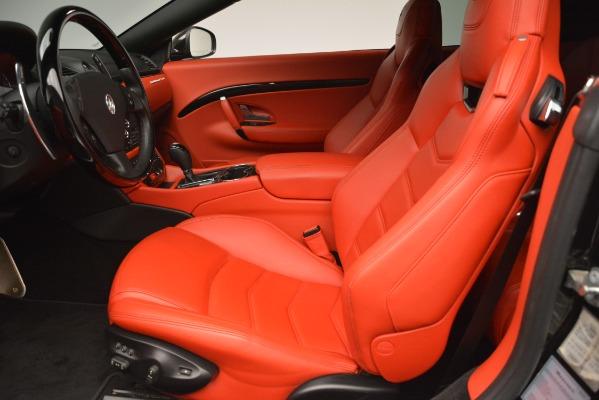 Used 2014 Maserati GranTurismo Sport for sale Sold at Alfa Romeo of Westport in Westport CT 06880 20