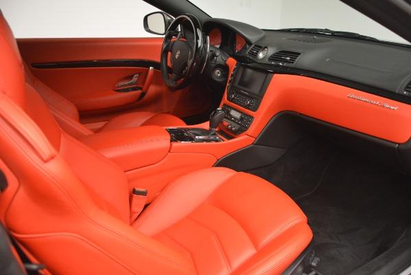 Used 2014 Maserati GranTurismo Sport for sale Sold at Alfa Romeo of Westport in Westport CT 06880 22