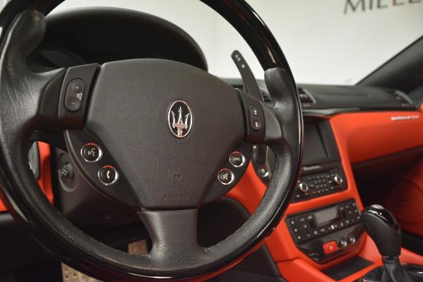 Used 2014 Maserati GranTurismo Sport for sale Sold at Alfa Romeo of Westport in Westport CT 06880 28