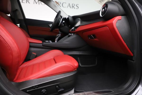 New 2019 Alfa Romeo Giulia Ti Sport Q4 for sale Sold at Alfa Romeo of Westport in Westport CT 06880 23