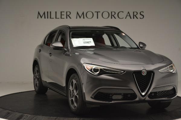 New 2019 Alfa Romeo Stelvio Sport Q4 for sale $49,640 at Alfa Romeo of Westport in Westport CT 06880 11