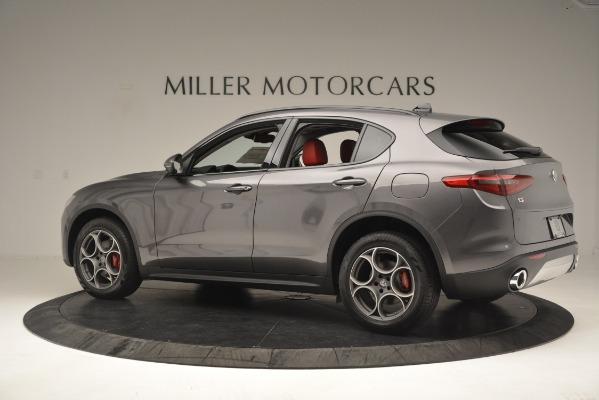 New 2019 Alfa Romeo Stelvio Sport Q4 for sale $49,640 at Alfa Romeo of Westport in Westport CT 06880 4