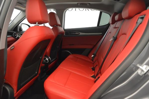 New 2019 Alfa Romeo Stelvio Sport Q4 for sale Sold at Alfa Romeo of Westport in Westport CT 06880 19