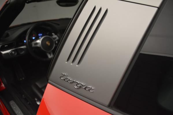 Used 2016 Porsche 911 Targa 4S for sale Sold at Alfa Romeo of Westport in Westport CT 06880 19