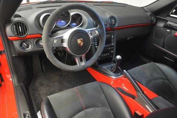 Used 2012 Porsche Cayman R for sale Sold at Alfa Romeo of Westport in Westport CT 06880 17