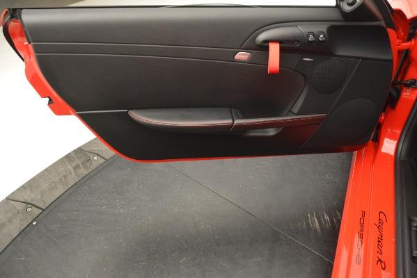 Used 2012 Porsche Cayman R for sale Sold at Alfa Romeo of Westport in Westport CT 06880 20