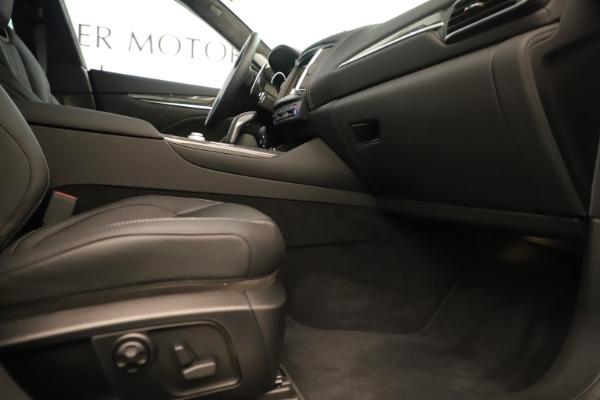New 2019 Maserati Levante GTS for sale $133,105 at Alfa Romeo of Westport in Westport CT 06880 23
