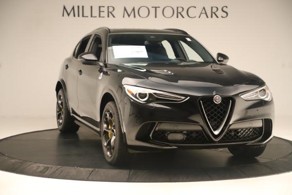 New 2019 Alfa Romeo Stelvio Quadrifoglio for sale $86,790 at Alfa Romeo of Westport in Westport CT 06880 11