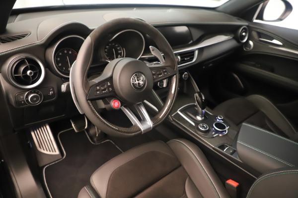 New 2019 Alfa Romeo Stelvio Quadrifoglio for sale $86,790 at Alfa Romeo of Westport in Westport CT 06880 13