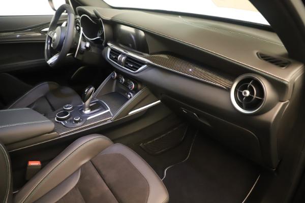 New 2019 Alfa Romeo Stelvio Quadrifoglio for sale $86,790 at Alfa Romeo of Westport in Westport CT 06880 22
