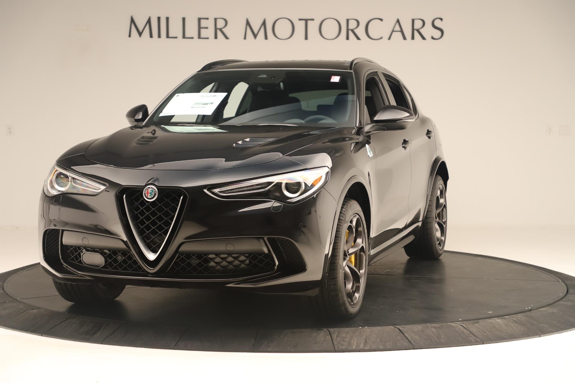 New 2019 Alfa Romeo Stelvio Quadrifoglio for sale $86,790 at Alfa Romeo of Westport in Westport CT 06880 1