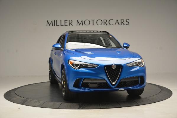 New 2019 Alfa Romeo Stelvio Quadrifoglio for sale Sold at Alfa Romeo of Westport in Westport CT 06880 18