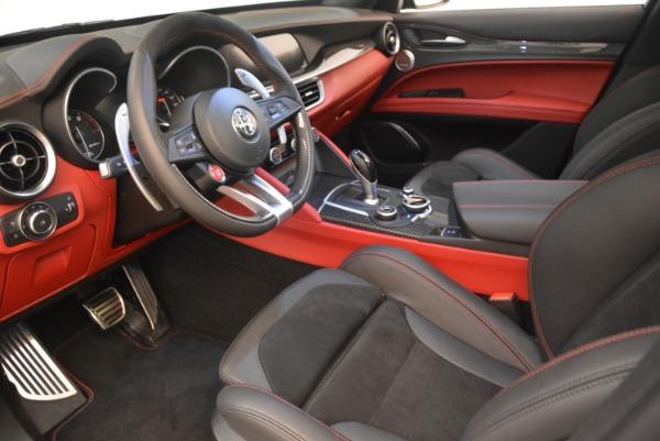 New 2019 Alfa Romeo Stelvio Quadrifoglio for sale Sold at Alfa Romeo of Westport in Westport CT 06880 13