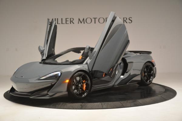 New 2020 McLaren 600LT Spider Convertible for sale Sold at Alfa Romeo of Westport in Westport CT 06880 14