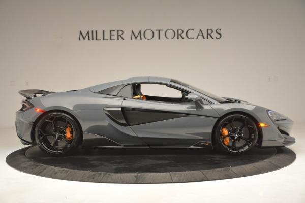 New 2020 McLaren 600LT Spider Convertible for sale Sold at Alfa Romeo of Westport in Westport CT 06880 20