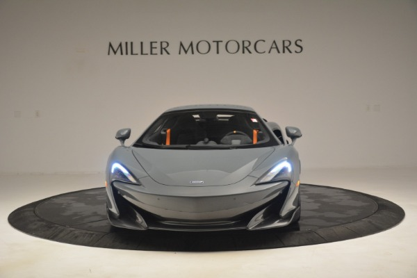 New 2020 McLaren 600LT Spider Convertible for sale Sold at Alfa Romeo of Westport in Westport CT 06880 22