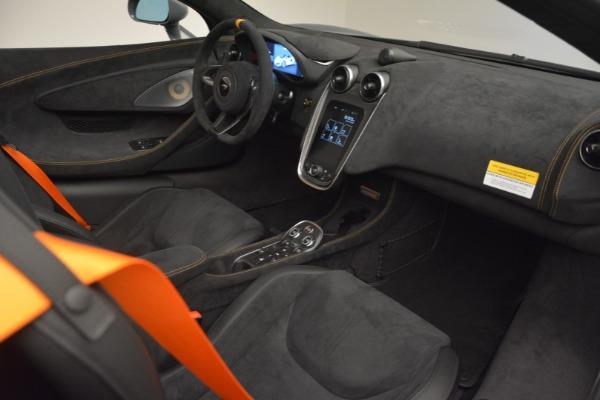 New 2020 McLaren 600LT Spider Convertible for sale Sold at Alfa Romeo of Westport in Westport CT 06880 27