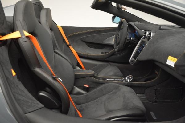 New 2020 McLaren 600LT Spider Convertible for sale Sold at Alfa Romeo of Westport in Westport CT 06880 28