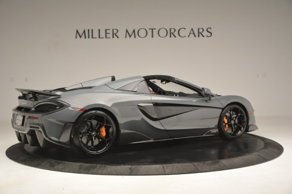 New 2020 McLaren 600LT Spider Convertible for sale Sold at Alfa Romeo of Westport in Westport CT 06880 8