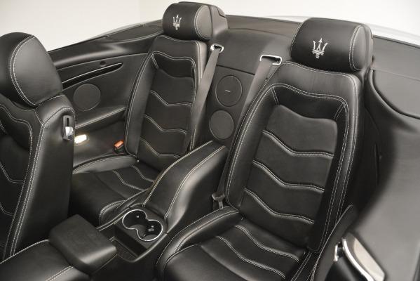 Used 2016 Maserati GranTurismo for sale Sold at Alfa Romeo of Westport in Westport CT 06880 22