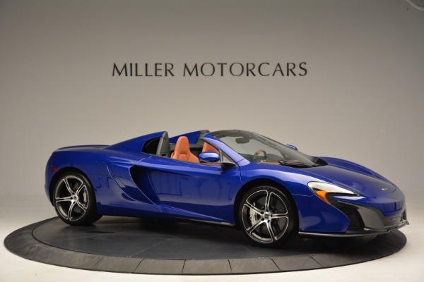 Used 2015 McLaren 650S Spider Convertible for sale Sold at Alfa Romeo of Westport in Westport CT 06880 10