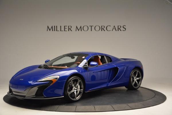 Used 2015 McLaren 650S Spider Convertible for sale Sold at Alfa Romeo of Westport in Westport CT 06880 14