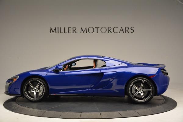 Used 2015 McLaren 650S Spider Convertible for sale Sold at Alfa Romeo of Westport in Westport CT 06880 15