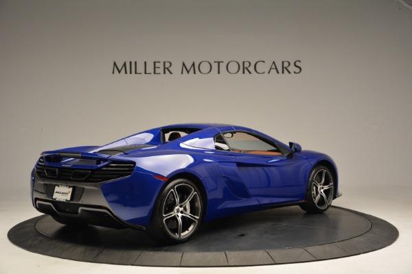 Used 2015 McLaren 650S Spider Convertible for sale Sold at Alfa Romeo of Westport in Westport CT 06880 18
