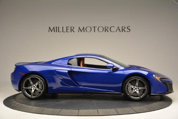 Used 2015 McLaren 650S Spider Convertible for sale Sold at Alfa Romeo of Westport in Westport CT 06880 19