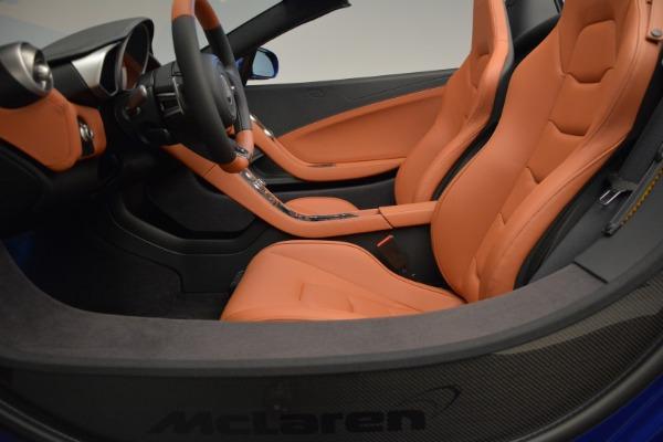 Used 2015 McLaren 650S Spider Convertible for sale Sold at Alfa Romeo of Westport in Westport CT 06880 23