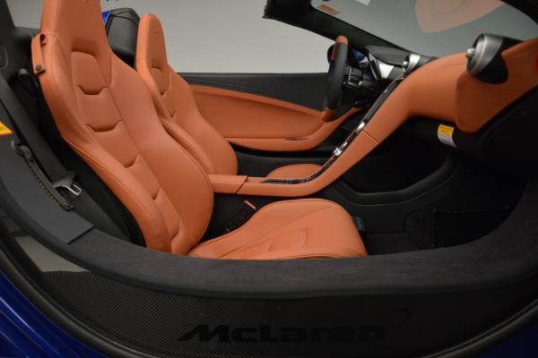 Used 2015 McLaren 650S Spider Convertible for sale Sold at Alfa Romeo of Westport in Westport CT 06880 26