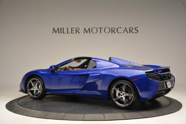 Used 2015 McLaren 650S Spider Convertible for sale Sold at Alfa Romeo of Westport in Westport CT 06880 4
