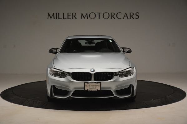 Used 2017 BMW M4 Competition PKG for sale Sold at Alfa Romeo of Westport in Westport CT 06880 7
