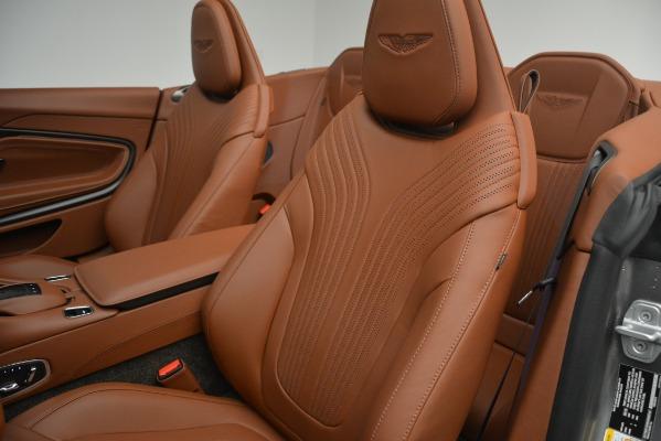 New 2019 Aston Martin DB11 V8 Convertible for sale Sold at Alfa Romeo of Westport in Westport CT 06880 20