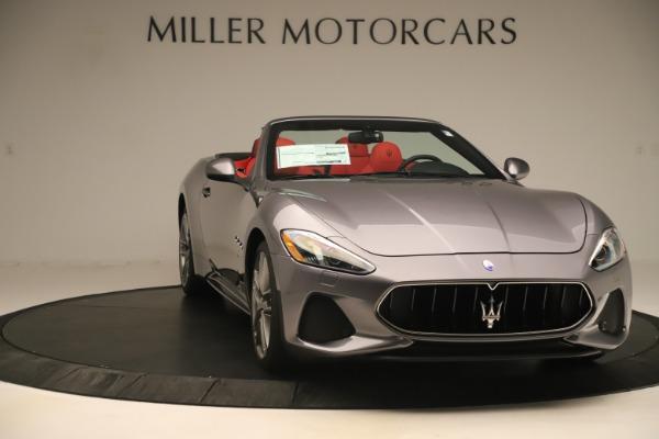 New 2018 Maserati GranTurismo Sport Convertible for sale $159,740 at Alfa Romeo of Westport in Westport CT 06880 11