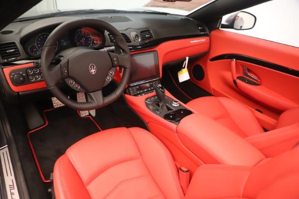 New 2018 Maserati GranTurismo Sport Convertible for sale $159,740 at Alfa Romeo of Westport in Westport CT 06880 19