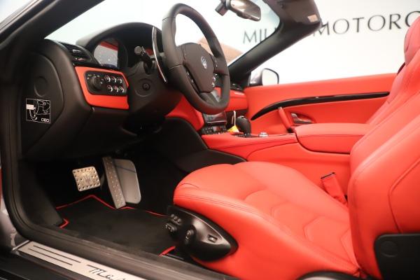 New 2018 Maserati GranTurismo Sport Convertible for sale $159,740 at Alfa Romeo of Westport in Westport CT 06880 20