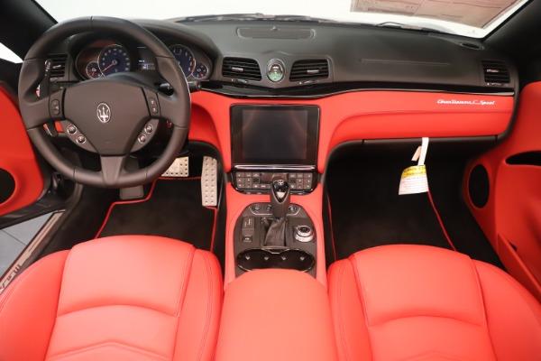 New 2018 Maserati GranTurismo Sport Convertible for sale $159,740 at Alfa Romeo of Westport in Westport CT 06880 22