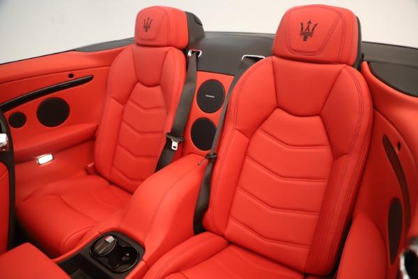 New 2018 Maserati GranTurismo Sport Convertible for sale $159,740 at Alfa Romeo of Westport in Westport CT 06880 24