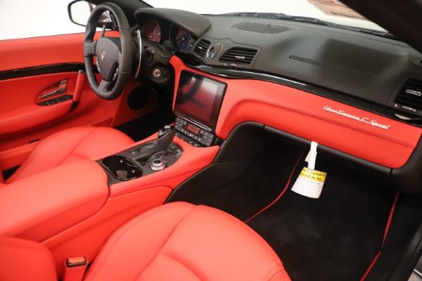 New 2018 Maserati GranTurismo Sport Convertible for sale $159,740 at Alfa Romeo of Westport in Westport CT 06880 26