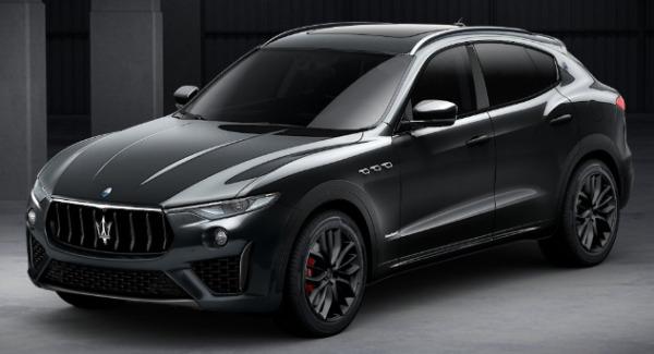 New 2019 Maserati Levante SQ4 GranSport Nerissimo for sale Sold at Alfa Romeo of Westport in Westport CT 06880 1