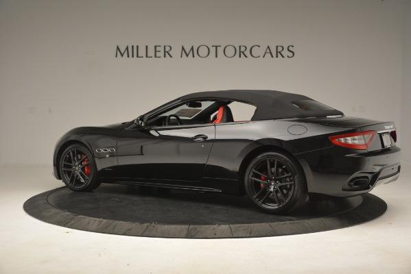 New 2018 Maserati GranTurismo Sport Convertible for sale Sold at Alfa Romeo of Westport in Westport CT 06880 8