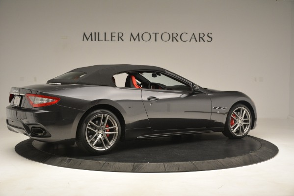 New 2018 Maserati GranTurismo Sport Convertible for sale Sold at Alfa Romeo of Westport in Westport CT 06880 16