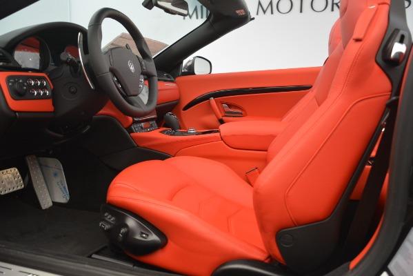 New 2018 Maserati GranTurismo Sport Convertible for sale Sold at Alfa Romeo of Westport in Westport CT 06880 26