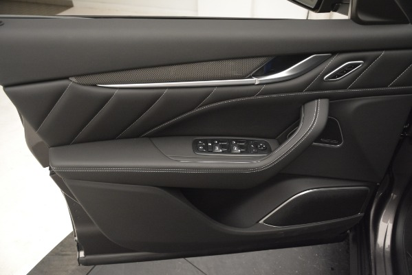 New 2019 Maserati Levante SQ4 GranSport Nerissimo for sale Sold at Alfa Romeo of Westport in Westport CT 06880 17