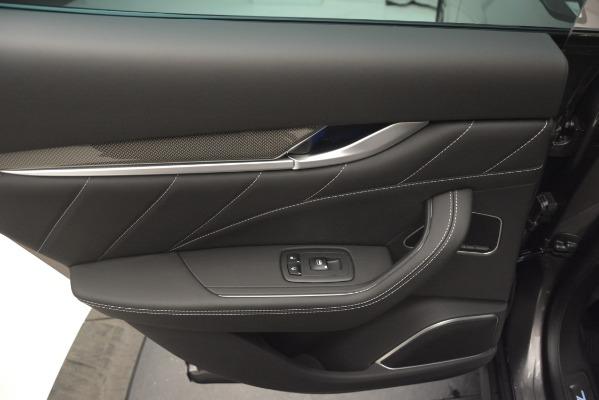 New 2019 Maserati Levante SQ4 GranSport Nerissimo for sale Sold at Alfa Romeo of Westport in Westport CT 06880 21